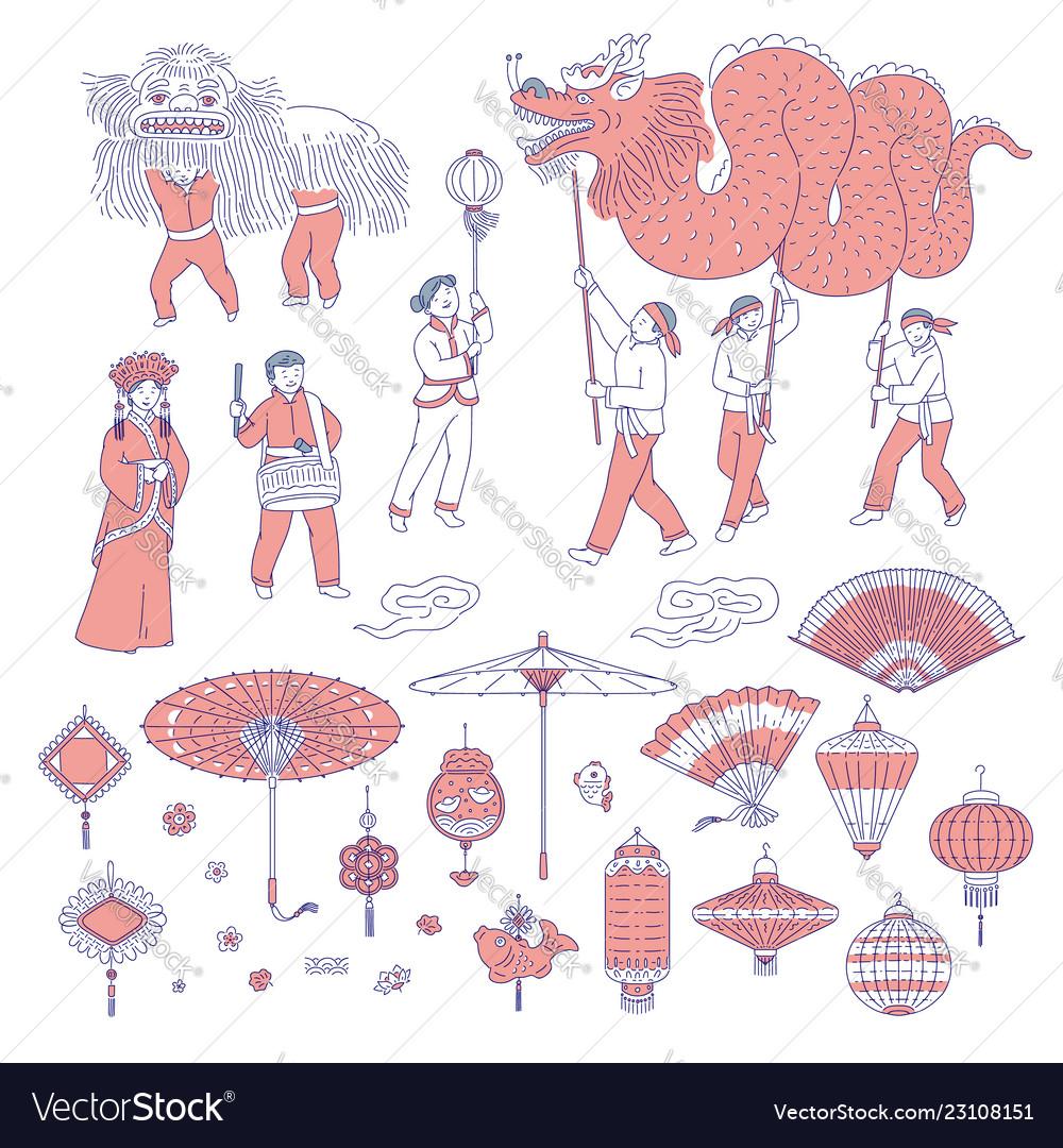 symbols chinese new year