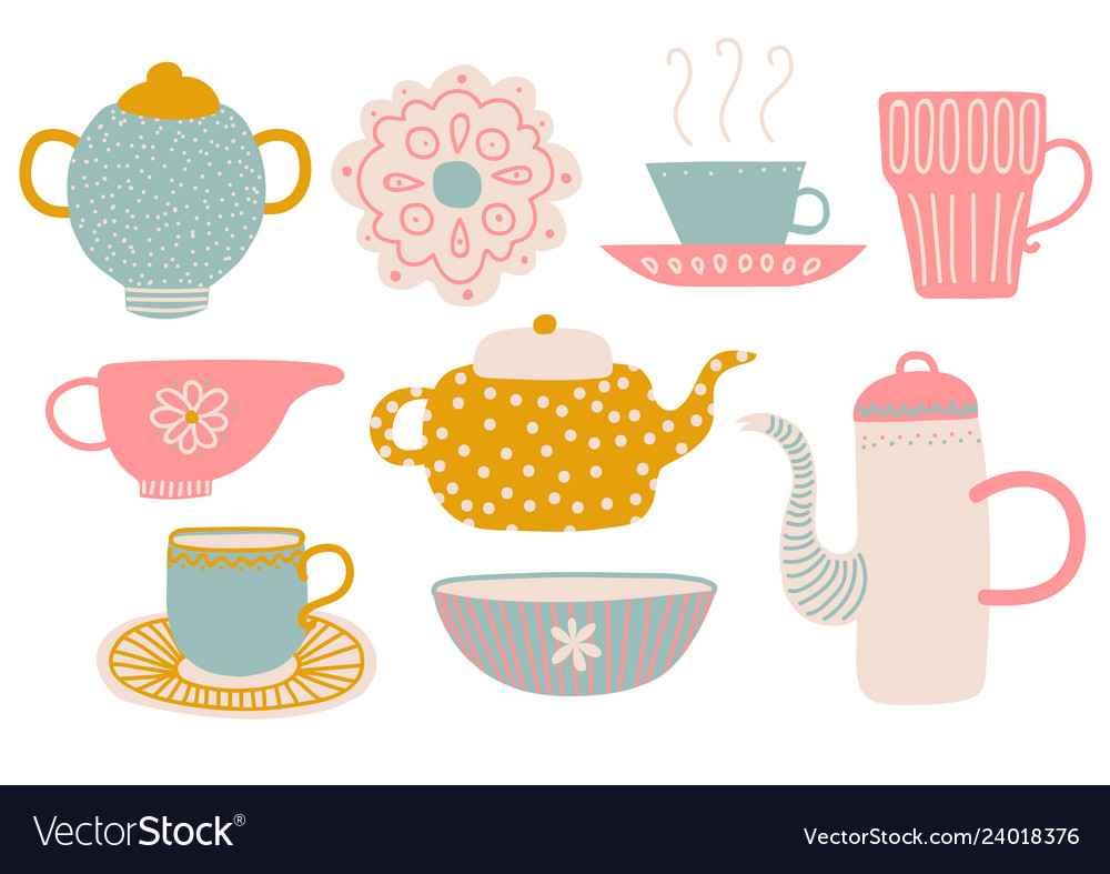 cute tea set tea