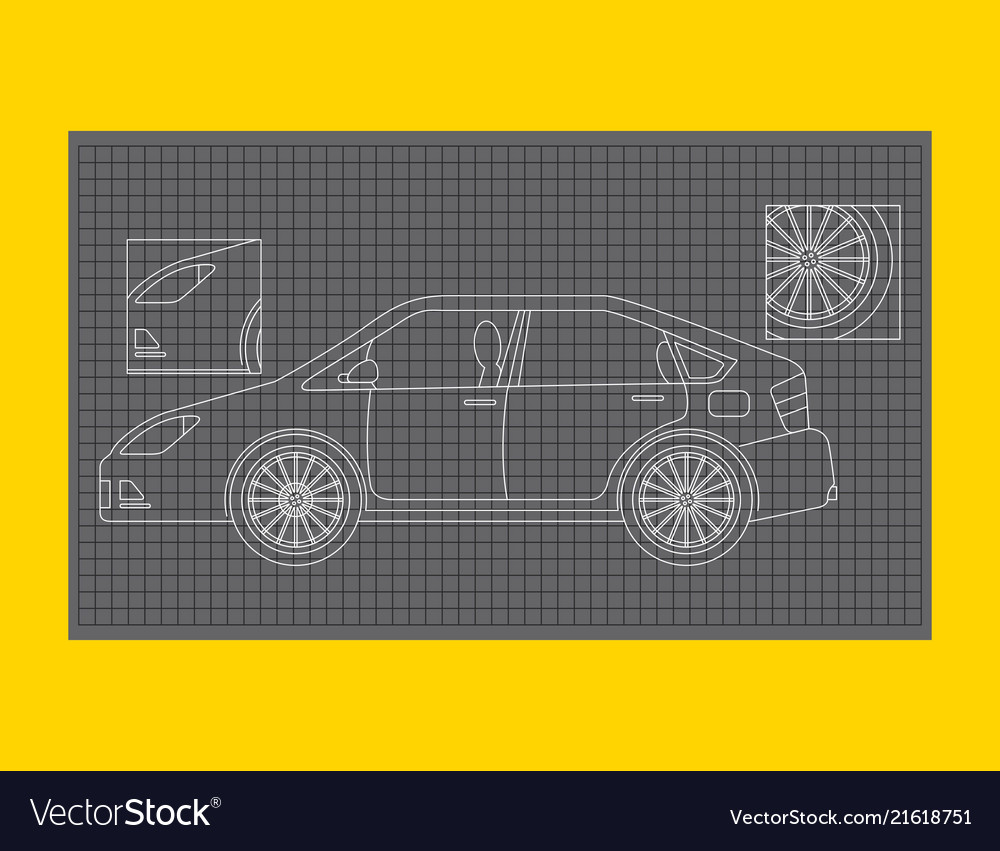 hight resolution of car schematic