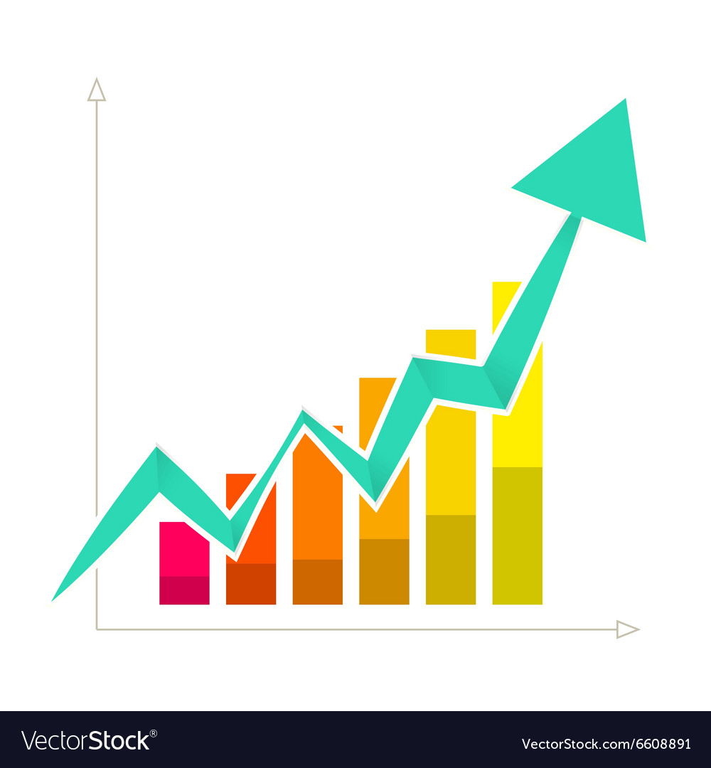 rising arrow graph