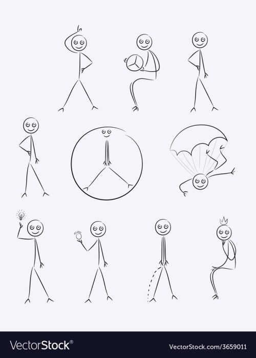 small resolution of outline sketch cartoon vector image