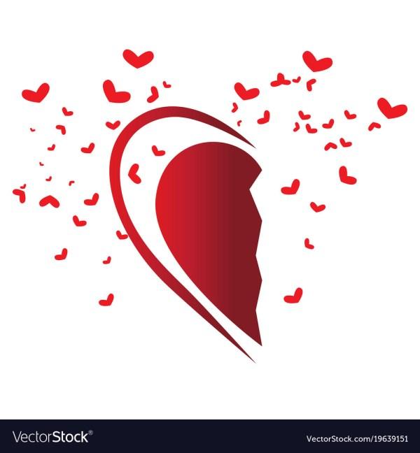 Heart Shape Royalty Free Vector - Vectorstock