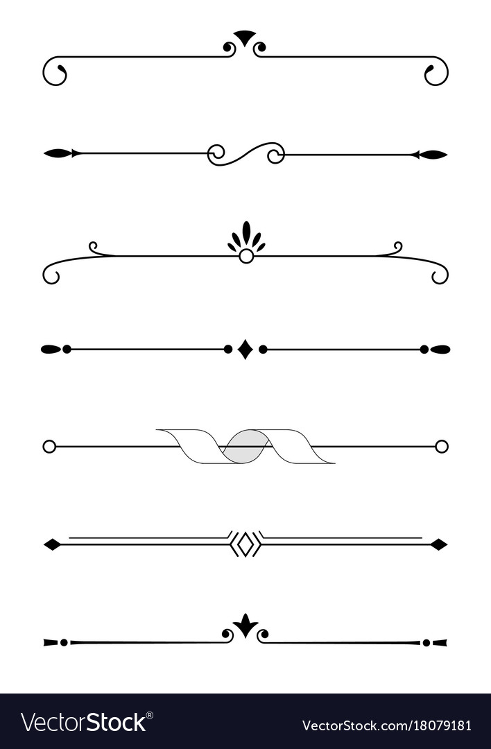 decorative elements borders and