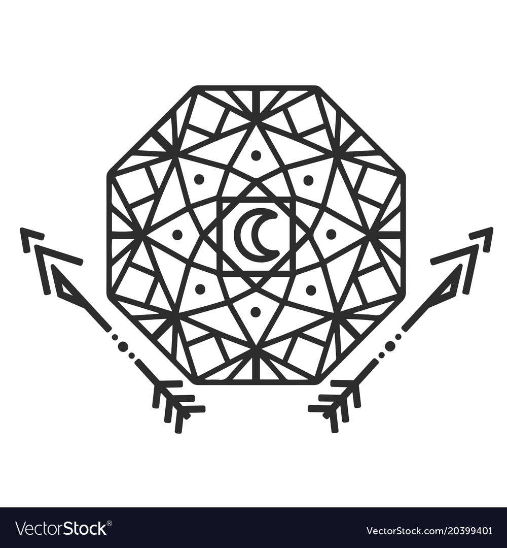 Geometric Tattoo Designs Vector