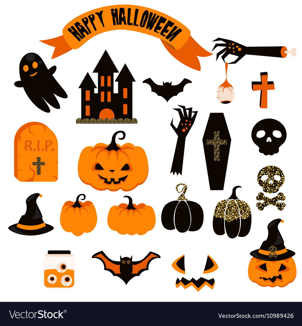 hight resolution of spooky clipart