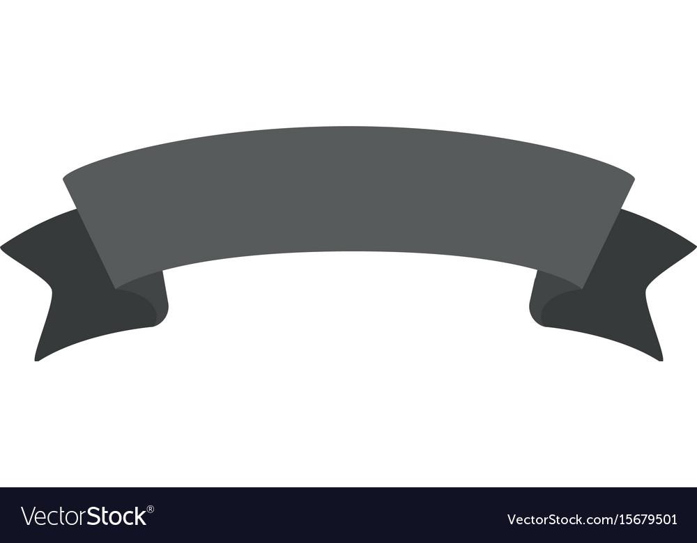 monochrome silhouette of label