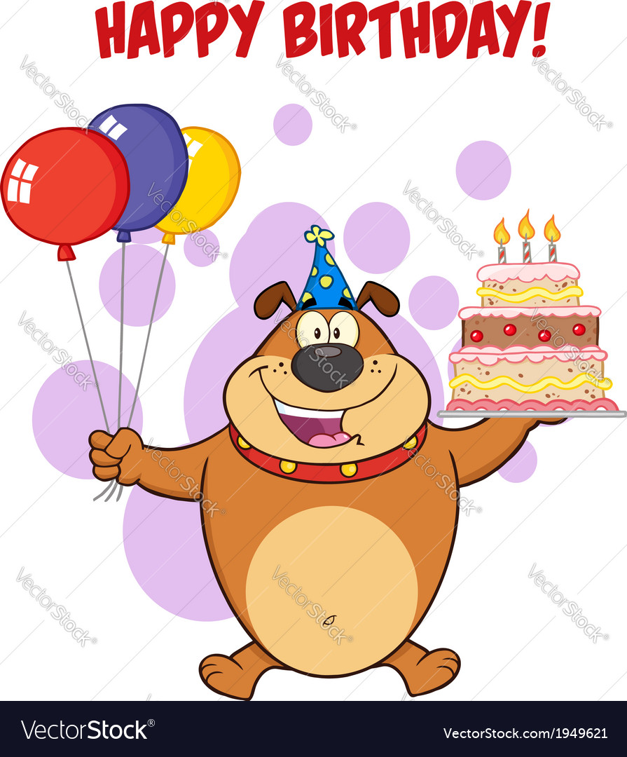 Happy Birthday Cartoon Images : happy, birthday, cartoon, images, Happy, Birthday, Cartoon, Royalty, Vector, Image