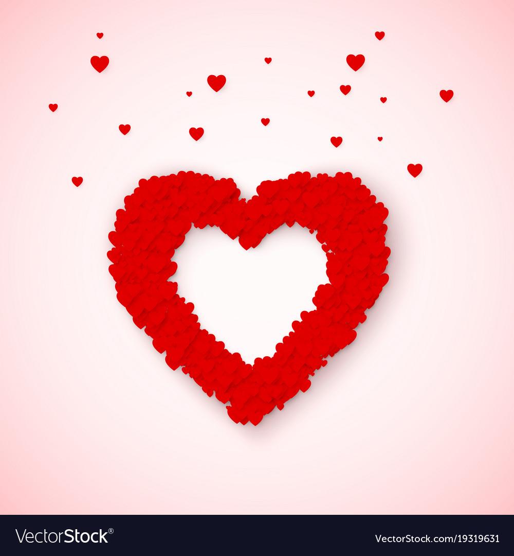 lovely heart frame from