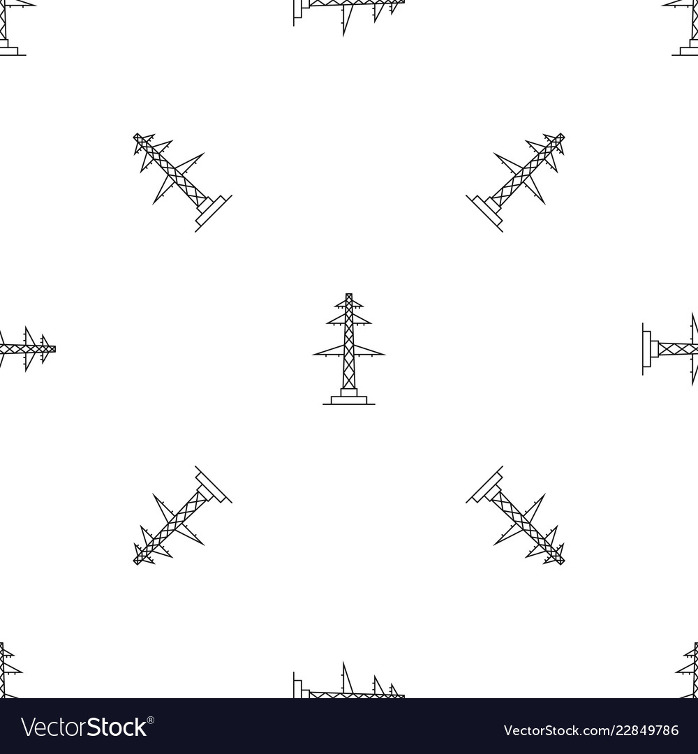 telephone pole diagram 2007 chrysler sebring fuse box pattern seamless royalty free vector image