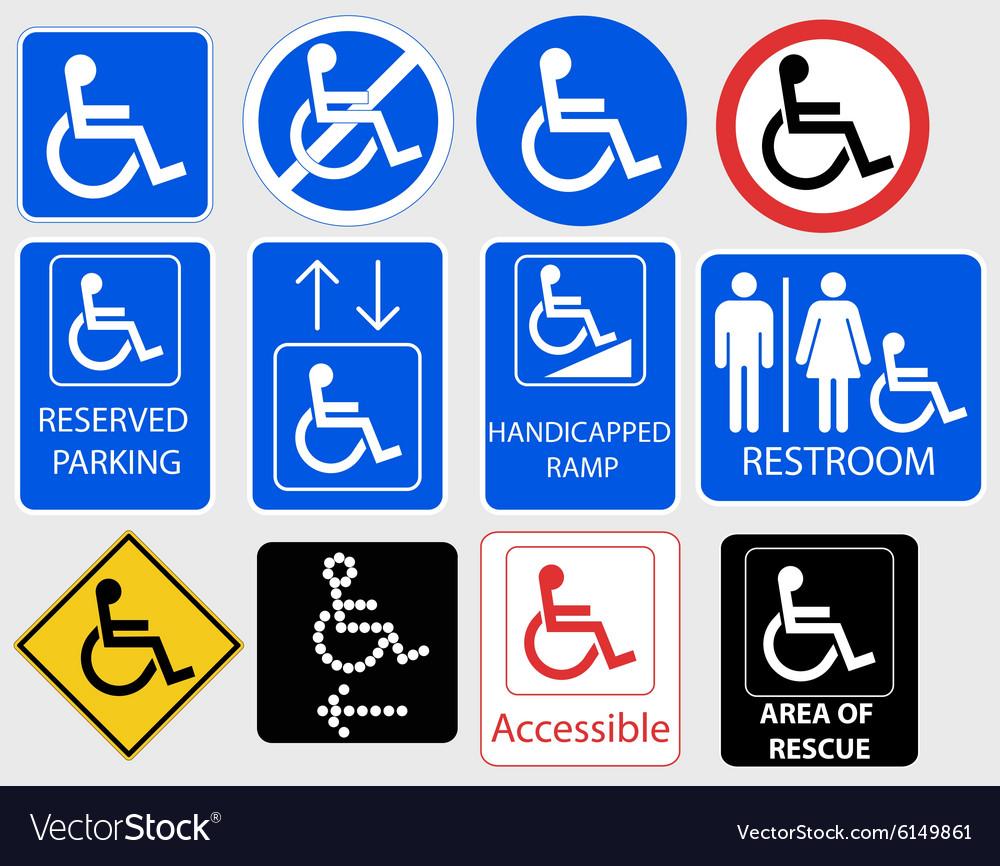 handicap symbol graphic