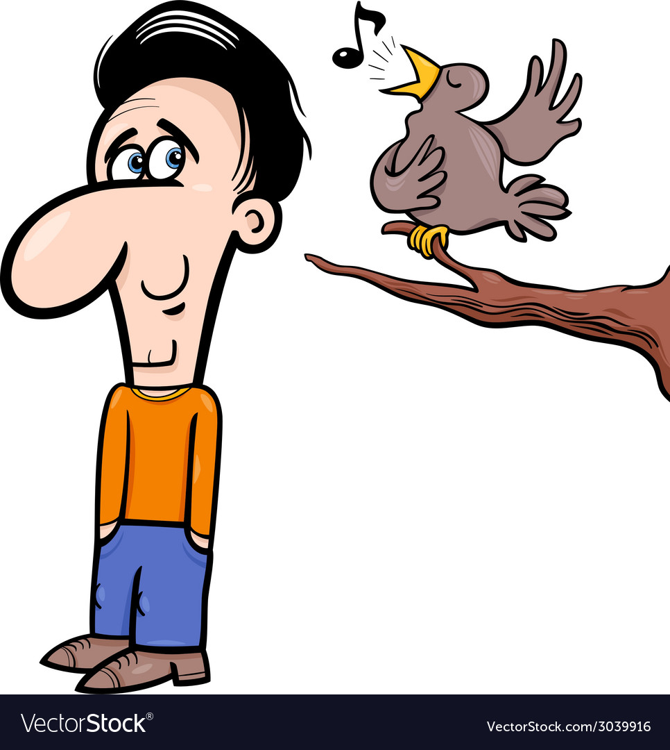 Image result for bird and a man