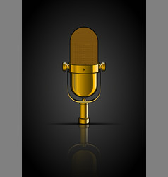 golden mic vector images