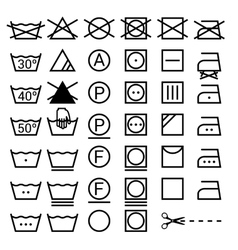 Laundry Symbols Vector Images Over 19 000