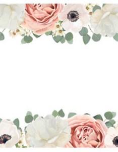 also floral frame flower border vector images over rh vectorstock