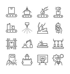 Agile software development icons set Royalty Free Vector