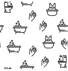 Color sanitation elements icons set Royalty Free Vector