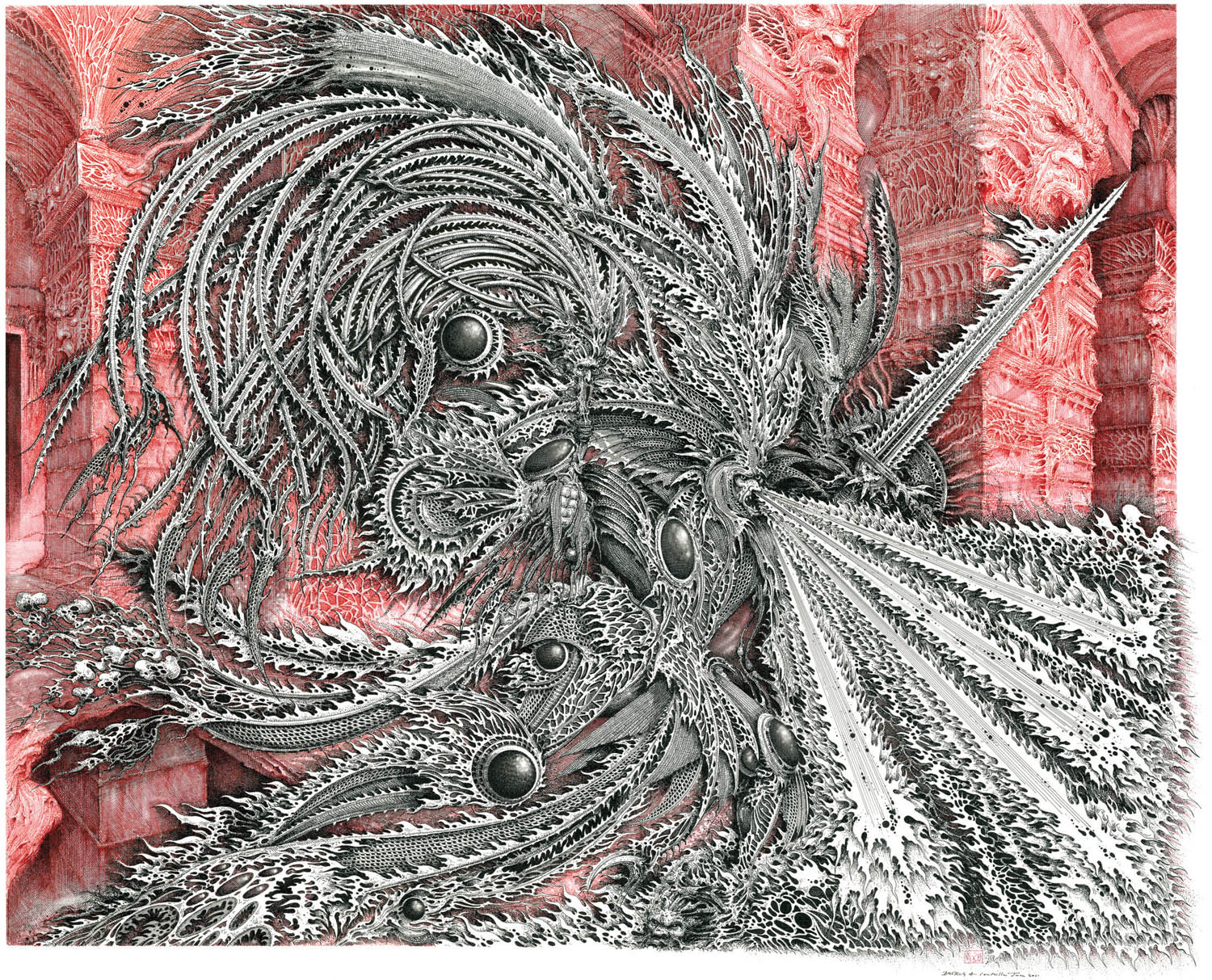 Fish Fiends And Fantasy The Gothic Art Of Ian Miller The Verge