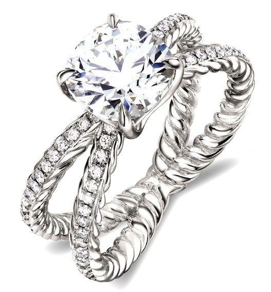 7 Giant Diamond Engagement Rings To Ogle From David Yurman