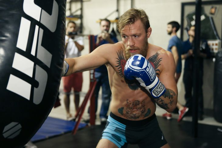 Morning Report Conor Mcgregor Says 'crossstyle Match