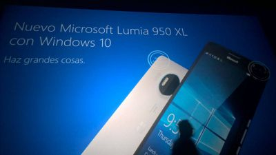 Lumia 550, Lumia 950, and Lumia 950 XL leaked slides