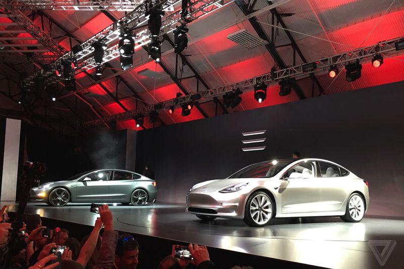 Tesla Model 3 launch