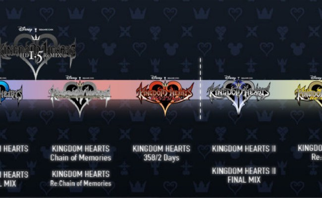 Kingdom Hearts Timeline Continues To Befuddle With 2 8