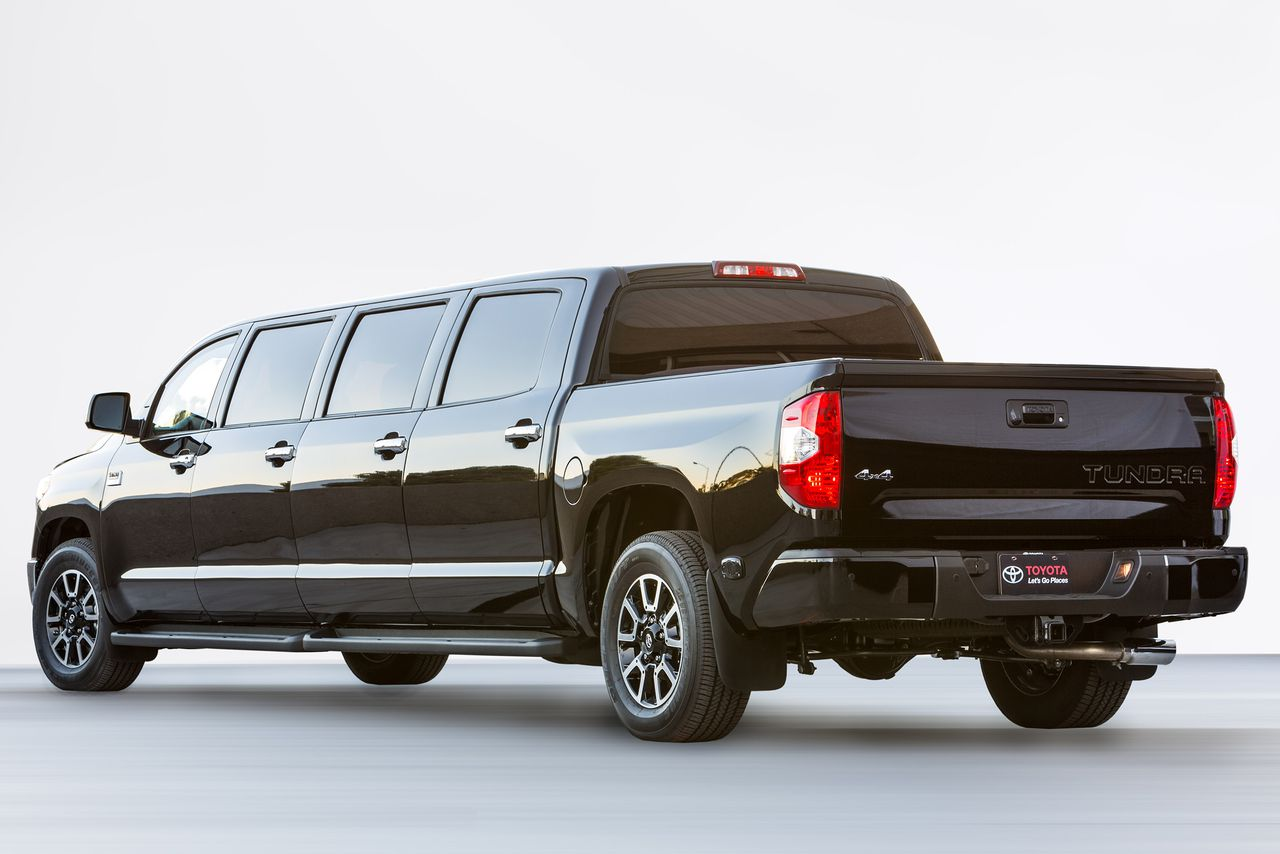 Toyota Builds A 26footlong Limo Pickup Truck, Because