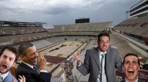 Social Media Reacts Kyle Field' Maroon Turf - Good
