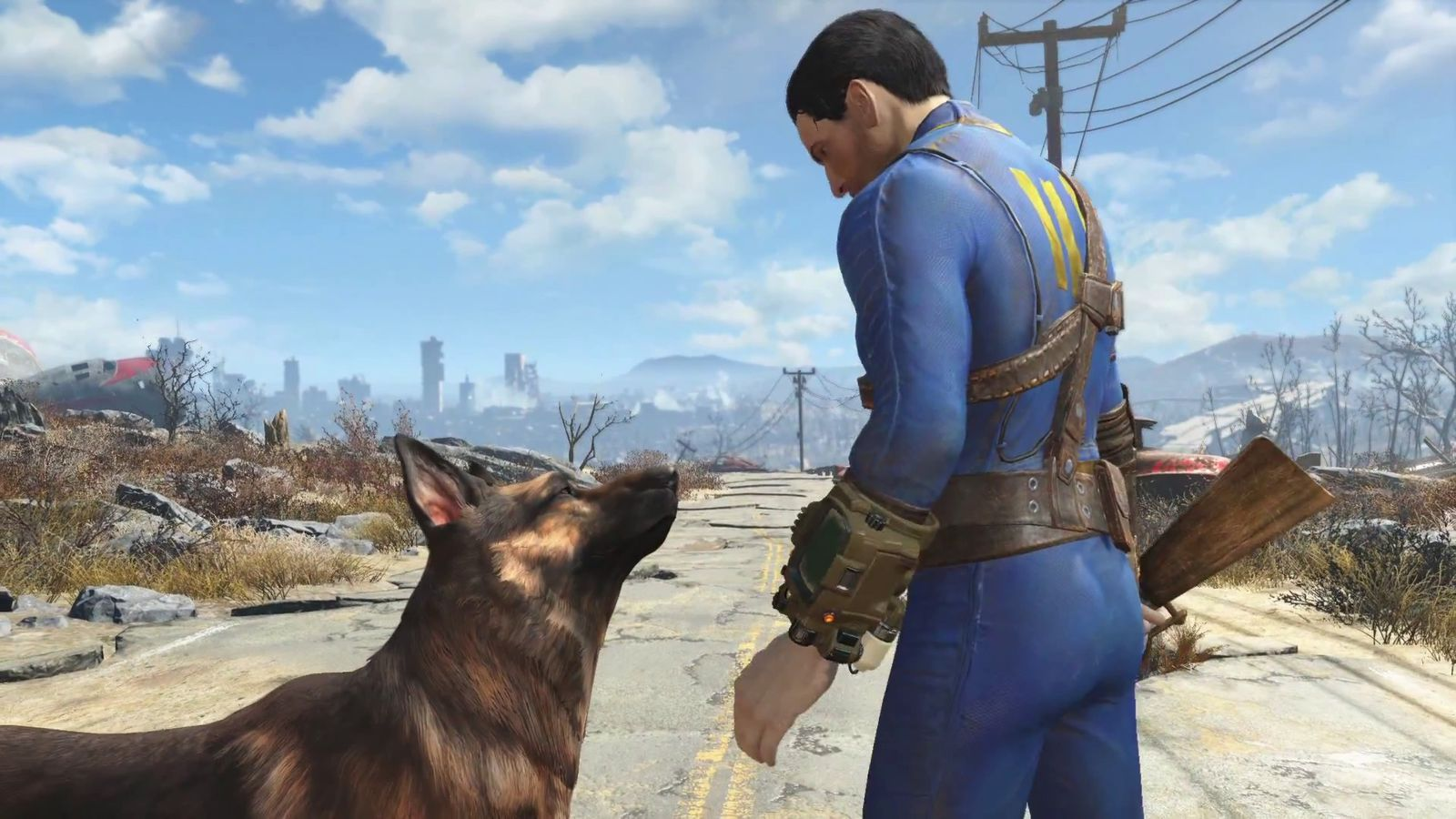 Boston In The Fall Wallpaper Fallout 4 Brings You And Your Faithful Dog To Boston Polygon