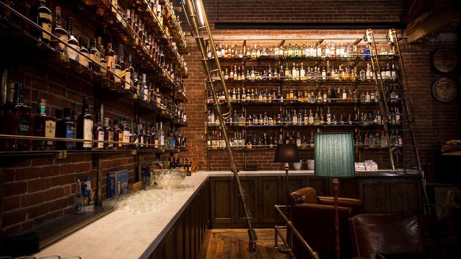 Inside Portlands 1500Bottle Whiskey Library  Eater
