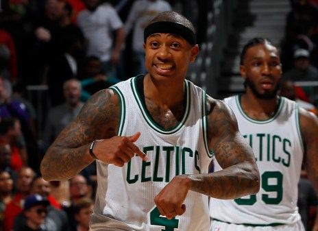 Image result for isaiah thomas time