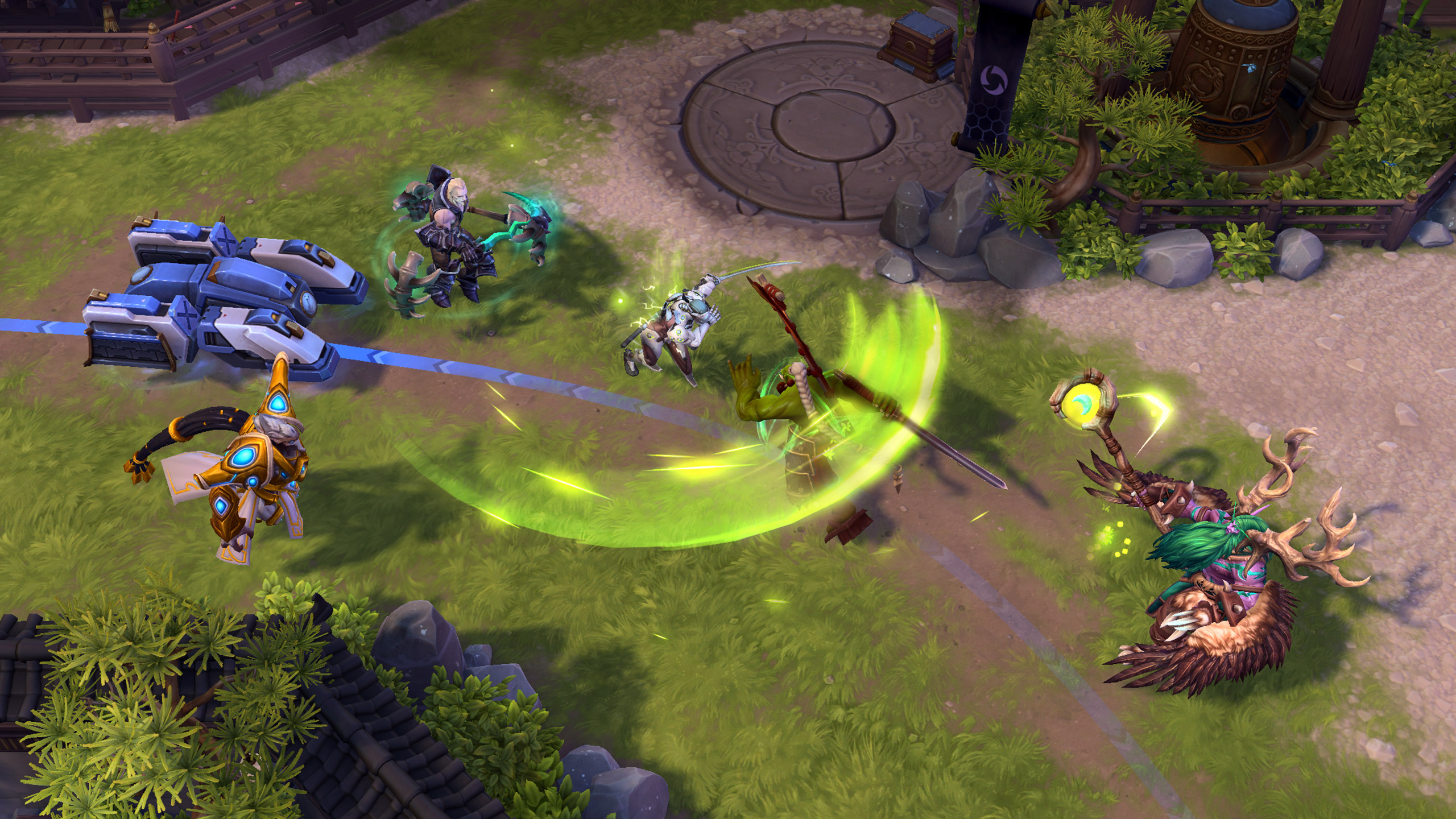 Overwatchs Genji Joins Heroes Of The Storm Polygon