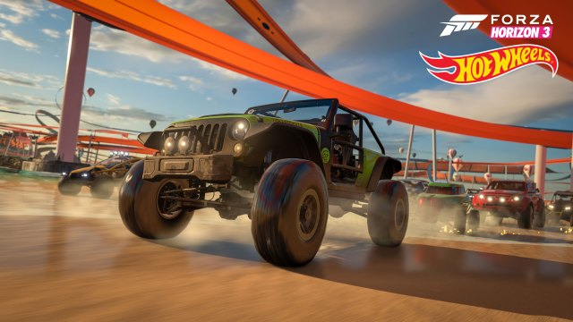 Forza Horizon 3: Hot Wheels Expansion FREAKING RULES