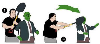 atacar un zombie