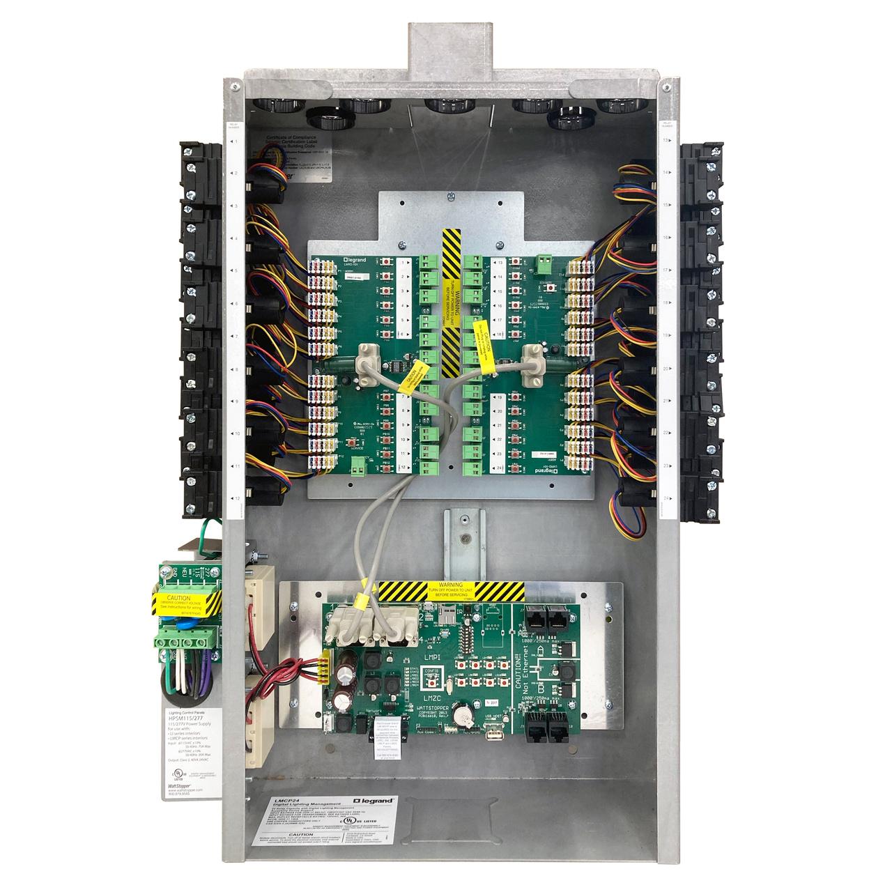 8 relay 0 10v dimming panel digital