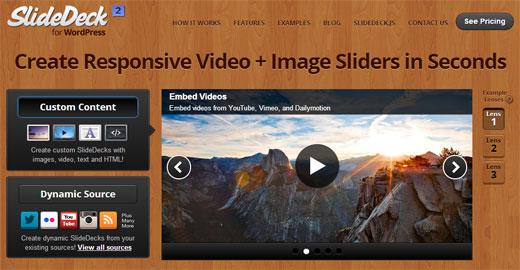 SlideDeck Web Screenshot