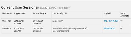 Concurrent logins in WordPress