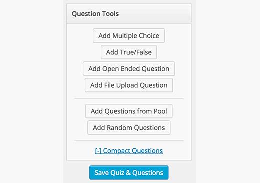 Question tools