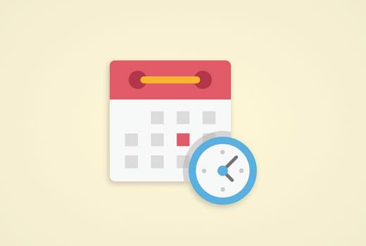 Auto-scheduling WordPress posts