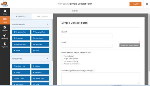 WPForms Online Form Builder