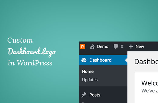Custom dashboard logo in WordPress