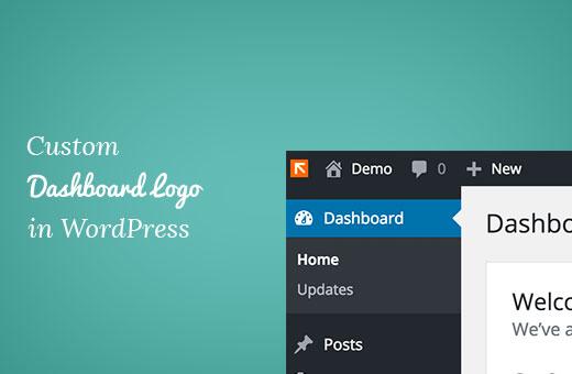 Custom dashboard logo in WordPress