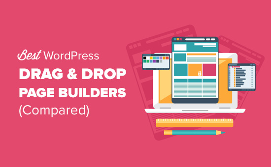 Best drag and drop WordPress page builder plugins
