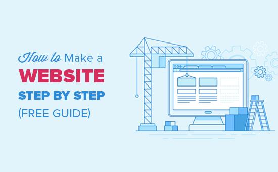 Hoe u een website stap voor stap kunt maken