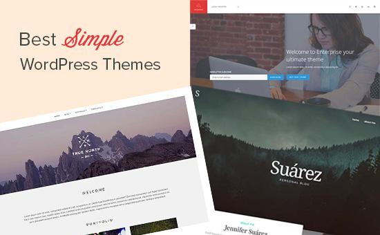 Los mejores temas de WordPress simples