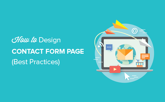 Best practices of contact form page design