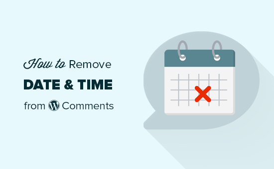 Removing date and time from WordPress comments