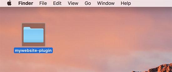 Creating your site-specific plugin folder