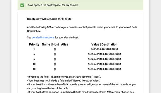 Data MX G Suite