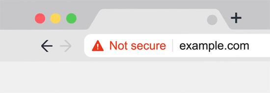 Chrome Not Secure SSL